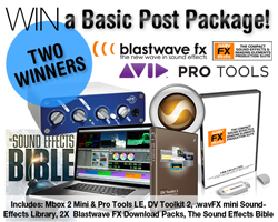 Blastwave FX and Avid Competition Basic Prize