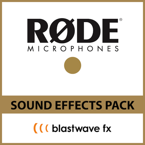 Rode-BWFX Sound Effects