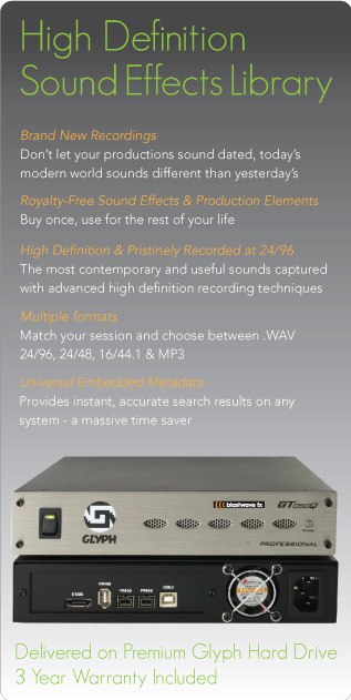 Sound Effects Hard Drives Sound Design Solutions Sds