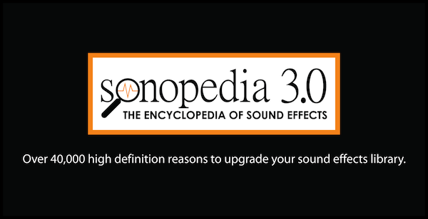 Sonopedia 3.0 Sound Effects Library